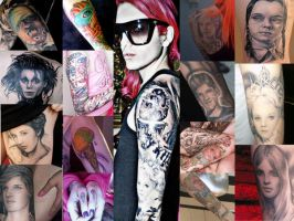 Jeffree Star Tattoos by xdyego