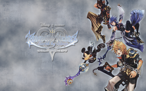 Kingdom Hearts BBS 1440x900 by worldstraveller