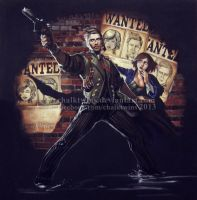 BioShock Infinite by ChalkTwins
