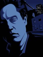 "Christopher Walken, ""King of New York"" by McJade"