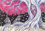 ACEO: The Old Gods by DanielleMWilliams