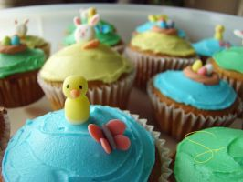Easter Cupcakes 6 by xcalixax