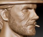 Clint Eastwood Zbrush Update by FoxHound1984