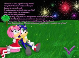 Together Forever SonAmy by FoxyThilia
