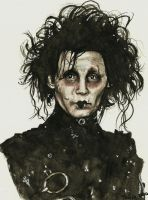 Edward Scissorhands by RubberDuckyTai