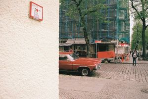 Untitled [Red Hot Car] 2014 by geonebieridze