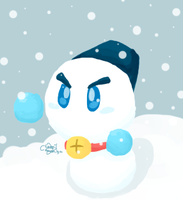 Winter Challenge 13 - Snowman by Chenanigans