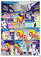 MLP FIM STARS Chapter-4 Stickers Page-52 by MultiTAZker