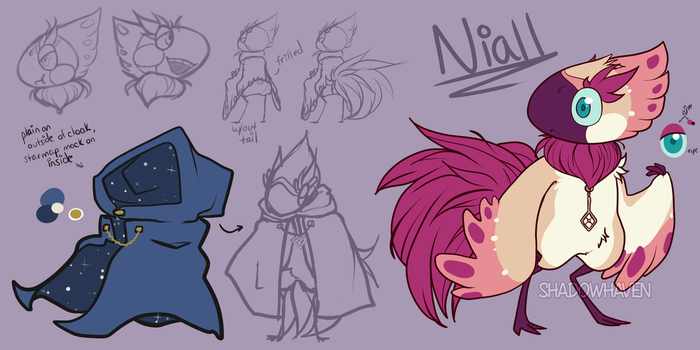 Niall WIP Ref by Shadow0Haven