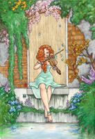 The Violinist by Monstrous-Teaparty