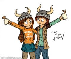 The Tea Vikings by BeckyBumble