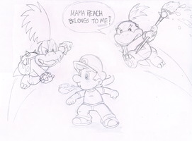 Commish: Koopa Attack by Nintendrawer