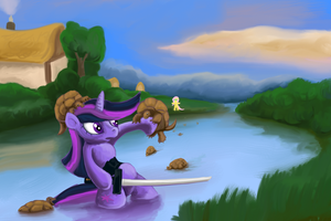 Twilight vs Turtles by Shade-os