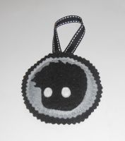 Limbo Inspired Felt Christmas Ornament by kiddomerriweather