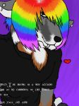 I eat Rainbows -moved- by Wolf-Blood