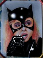 Chole Grace Moretz as Catwoman by RawGraff