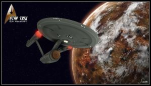 Star Trek - 50th Anniversary - Command by celticarchie