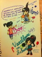 .:Cross-Over:. The Design of Vanellope by SkyWarriorKirby