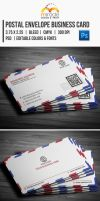 Postal Envelope Business Card by EgYpToS