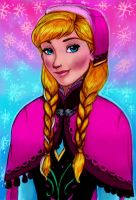 Anna of Arendelle by Kevsoraone