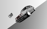 VW Golf II GTI 1983 Vector by ROL4NDesignStudio