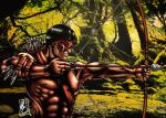 Brazilian Amazon indian hunter (colors) by FantasticMystery