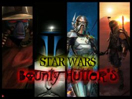 STAR WARS - Bounty Hutter's by StarkilerOmega