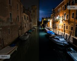 Brick and Mortar Workflow - Venice Gondolas by Sleeklens