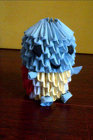 3D Origami Squirtle (Pokemon) by LuvYen101