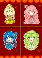 Deck Queens Adoptables [CLOSED] by mallocchi