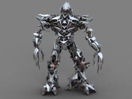 Transformers The Game PC Megatron by PapercraftKing