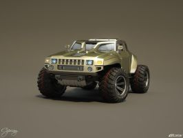 Hummer HB concept 13 by cipriany