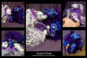 Pre-made Imps: Doyle n' Poyle by WormsandBones