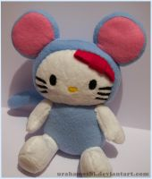 Hello Kitty Rat Costume by UraHameshi