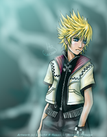 KH2: Roxas -revised- by Lancha