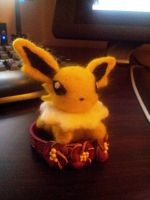 Felted Jolteon by FalseSecurity