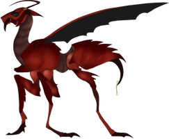 Red Wasp Horse (Point Adoptable) CLOSED by Draslonias