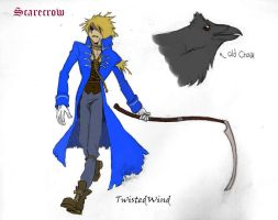the Scarecrow by twisted-wind