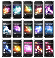 Bokeh iPhone Wallpapers by rosannabell