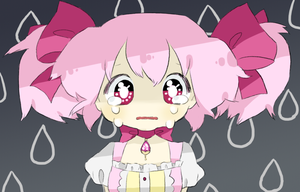 Why are you crying, Madoka? by Tomatobox-Fairy
