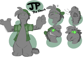 JP the slouch by Coretoon