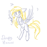 Derpy Hooves by MissMagicalWolf