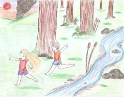 Frolicking by Lexi247