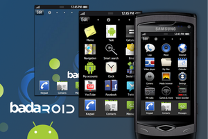 BadaRoid: Android theme by lucanus43