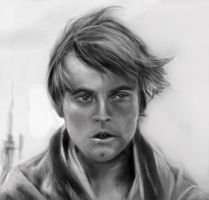 Luke Skywalker by porojj