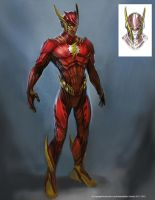 Flash Alt 01 by Raggedy-Annedroid