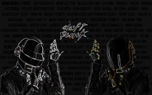 Daft Punk Wallpaper by LemonSwank