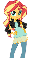 Sunset Shimmer (Friendship Games) Promo by 76859Thomasreturn