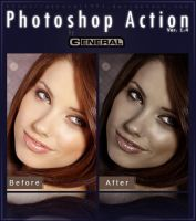 Photoshop Action Ver. 1.4 by General1991