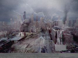 Apocalypse Chicago by ikke998